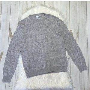 ZARA Basic Round Crewneck Knit Sweater Pullover